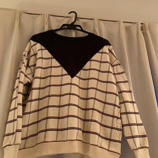 ダブルスタンダードクロージング(DOUBLE STANDARD CLOTHING)のレディース、トレーナー(トレーナー/スウェット)