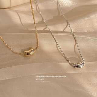BEAUTY&YOUTH UNITED ARROWS - #852 import neckless : drop beans gold