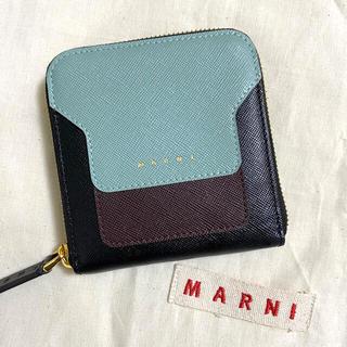 Marni - Marni マルニ サフィアーノ 財布 バッグ 二つ折り コインケース ミニ財布