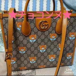 Gucci - GUCCI グッチ 新品 本物 EXO KAI カイ コラボ テディベア バッグ