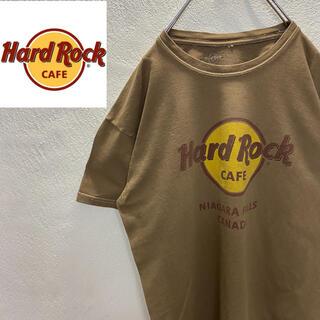 ロックハード(ROCK HARD)の【希少】デカロゴ  ハードロックカフェ ビッグロゴ 定番プリント M Tシャツ(Tシャツ/カットソー(半袖/袖なし))