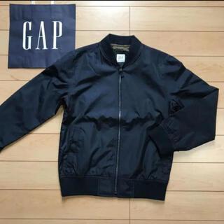 GAP Kids - ラスト1点!新品★ 120cm gap ジャンパー ロゴ ネイビー ma-1