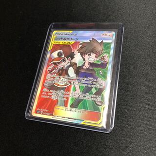 ポケモン(ポケモン)の【ポケモンカード】レッド&グリーン SR(シングルカード)
