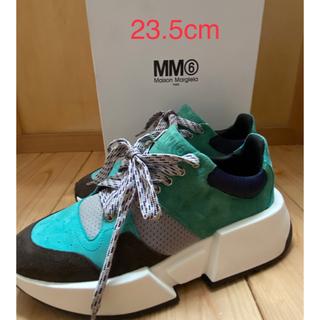MM6 - 【新品未使用】mm6メゾンマルジェラ/ 23.5cm /厚底 スニーカー