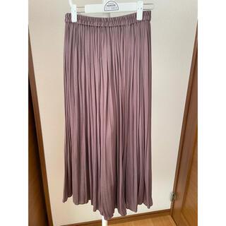 LOWRYS FARM - LOWRYSFARMプリーツスカート ロングスカート