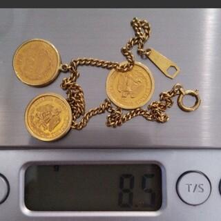 メキシコ金貨ブレスレット