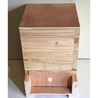 日本蜜蜂重箱式巣箱ハニーズハウス2021年モデル 送料無料!(虫類)
