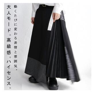 antiqua - antiqua モードデザインスカート
