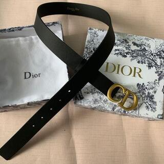 Dior - Dior ディオール   カーフスキンサドルベルト
