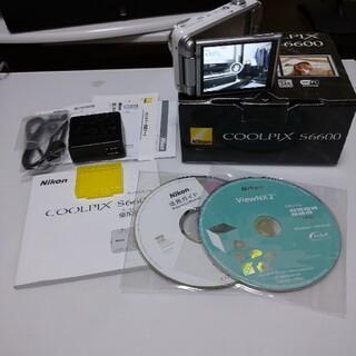 Nikon - ニコン  Nikon COOLPIX S6600 人気のホワイト