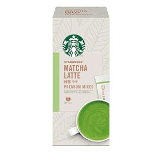 Starbucks Coffee - スターバックス プレミアム ミックス 抹茶ラテ 1箱4本入