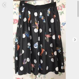 Lois CRAYON - ロイスクレヨン  バードドットスカート  美品