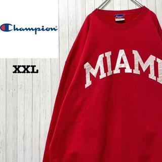 Champion - チャンピオン カレッジ系 トレーナー スウェット ビッグサイズ XXL