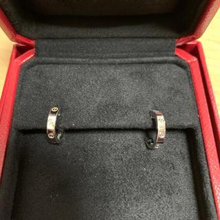 Cartier - 【美品】カルティエ ミニラブピアス Cartier