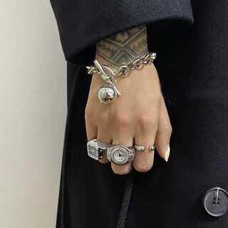 トゥデイフル(TODAYFUL)の#845 import  : ballcatch chain bracelet(ブレスレット/バングル)