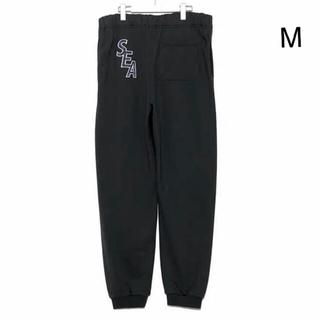 シー(SEA)のWIND AND SEA S-E-A SWEAT PANTS 黒 M(その他)