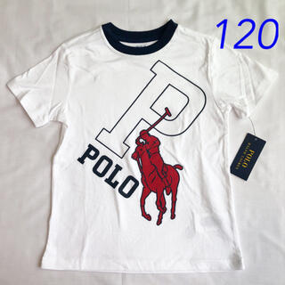 POLO RALPH LAUREN - ラスト1点◆ラルフローレン ビッグポニーコットングラフィックT ホワイト 120