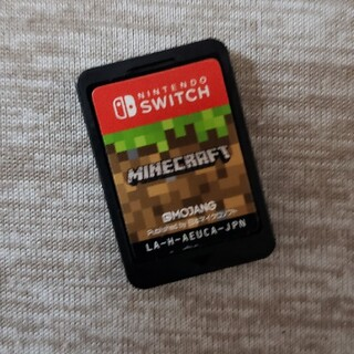 Nintendo Switch - Nintendo Switch ソフト  Minecraft  ソフトのみ  中