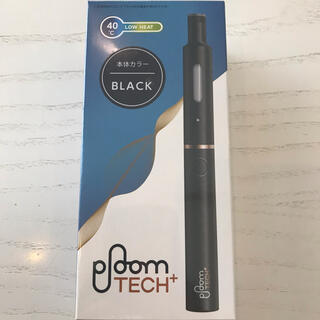 プルームテック(PloomTECH)のPloom TECH+  ブラック(タバコグッズ)