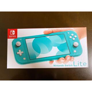 Nintendo Switch - 【新品・保証付】任天堂スイッチライト 本体 青