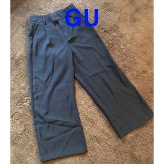 ジーユー(GU)のguワイドパンツ(ワークパンツ/カーゴパンツ)