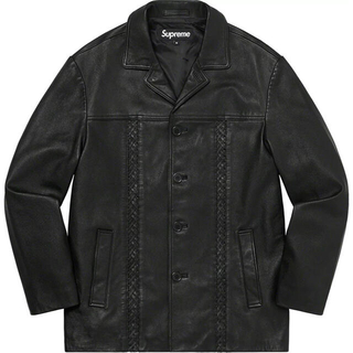 Supreme - 【Mサイズ】Braided Leather Overcoat ブレイデット