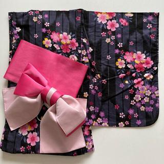 シマムラ(しまむら)の浴衣&帯セット レディース 桜(浴衣)