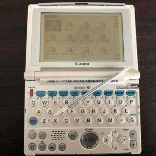 キヤノン(Canon)のキャノン 電子辞書 Canon word bank V30(電子ブックリーダー)