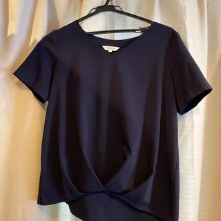 プラステ(PLST)のPLST ポリエステル 半袖 ブラウス(シャツ/ブラウス(半袖/袖なし))
