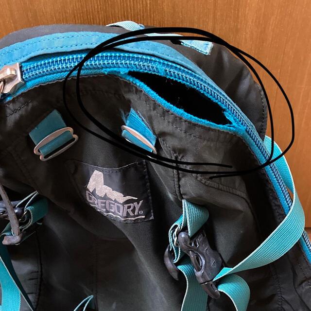Gregory(グレゴリー)のGREGORY グレゴリー バックパック メンズのバッグ(バッグパック/リュック)の商品写真