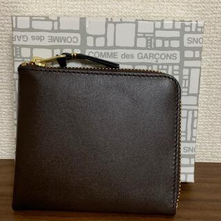 コムデギャルソン(COMME des GARCONS)の新品 コムデギャルソン ミニウォレット ミニ財布 ブラウン コインケース 茶色(コインケース)