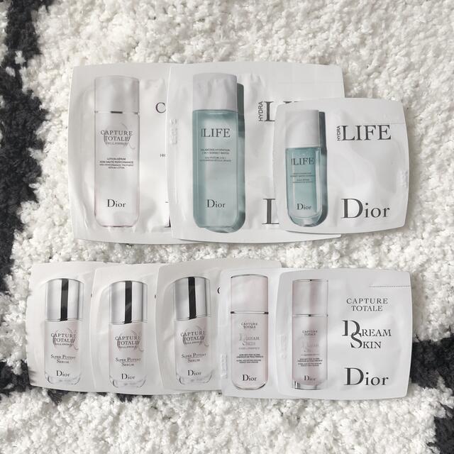 Dior(ディオール)のDior ディオール  スキンケアセット コスメ/美容のキット/セット(サンプル/トライアルキット)の商品写真