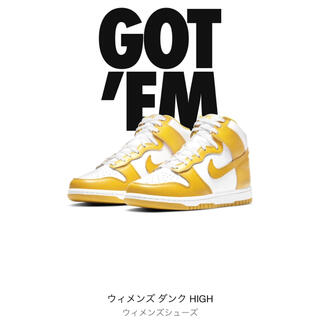 NIKE - 27.5㎝ NIKE WOMEN'S DUNK HIGH