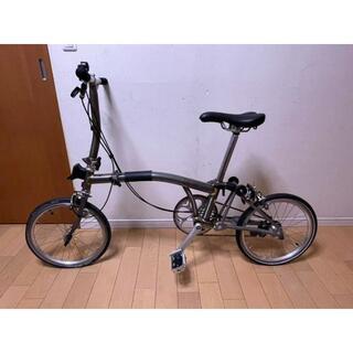 ブロンプトン(BROMPTON)のBROMPTON S2LX RAWカラー + 輪行バッグ + Sバッグ(自転車本体)