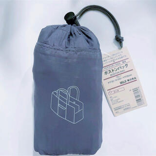 MUJI (無印良品) - 新品 無印良品 MUJI パラグライダークロス 撥水 ボストンバッグ グレー