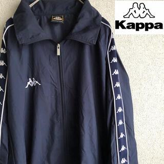 カッパ(Kappa)の90s KAPPA 袖ライン ナイロン ジャケット ブルゾン カッパ 90's(ナイロンジャケット)