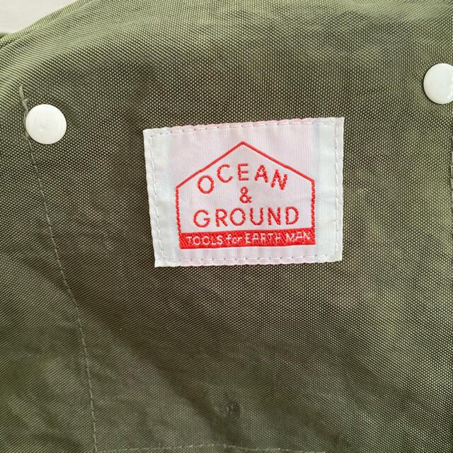 ocean&groundリュック キッズ/ベビー/マタニティのこども用バッグ(リュックサック)の商品写真