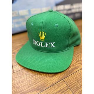 90s bootleg ROLEX logo cap ロレックス キャップ 帽子