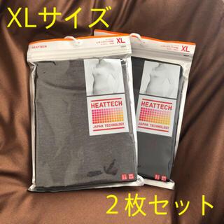 UNIQLO - 【新品未使用】ユニクロ WOMEN ヒートテックUネックT XL (2枚セット)