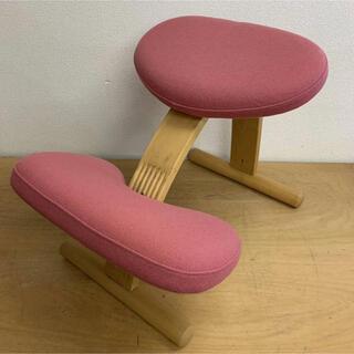 バランスチェア イージー 学習椅子 姿勢 矯正 椅子 猫背 子供用(座椅子)