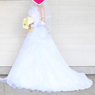 【送料込み・パニエ付】ウェディングドレス(ウェディングドレス)