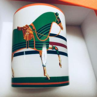 エルメス(Hermes)の新品未使用 エルメス マグカップ 馬着 馬(食器)