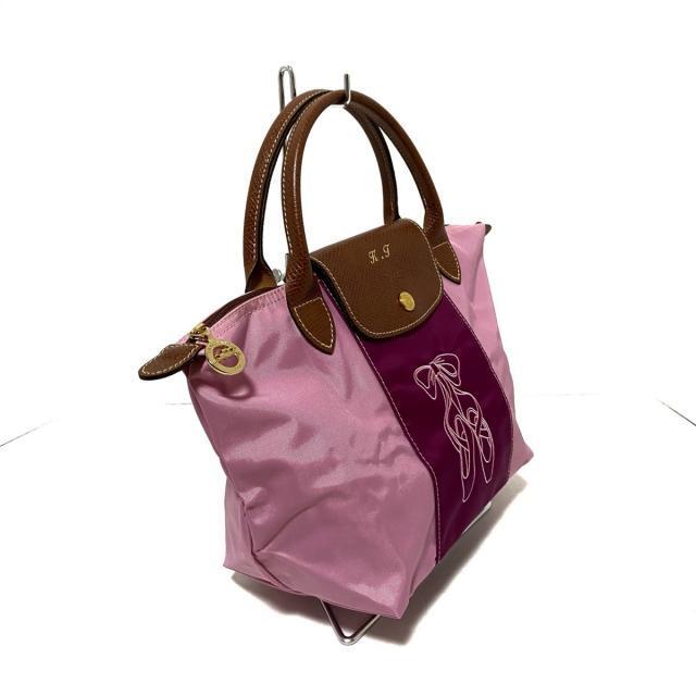 LONGCHAMP(ロンシャン)のロンシャン - 折りたたみ/イニシャル刻印 レディースのバッグ(ハンドバッグ)の商品写真