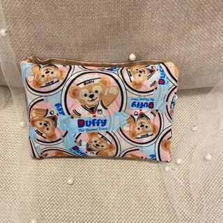 ミキハウス(mikihouse)のDuffy 大きめエコバッグ  ダッフィー柄 ショッピングバッグ(エコバッグ)
