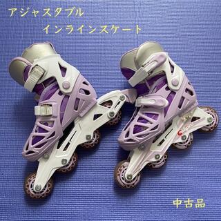 【大幅値下げ】アジャスタブル インラインスケート(ローラーシューズ)