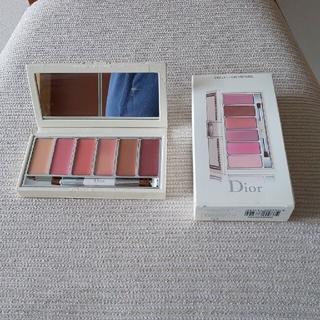 Christian Dior - お値下げ★【未使用】ディオール 6色リップグロス パレット 限定品 元箱つき