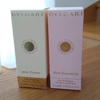 BVLGARI - BVLGARI ブルガリ 香水 プールファム & ローズエッセンシャル