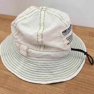 patagonia - 美品★ポニーゴーラウンド キッズ  ハット Lサイズ 子ども用 帽子 日本製
