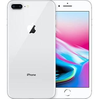 iPhone - iPhone8 64GB SIMロック解除済み シルバー/ケーブルオマケ付き♪