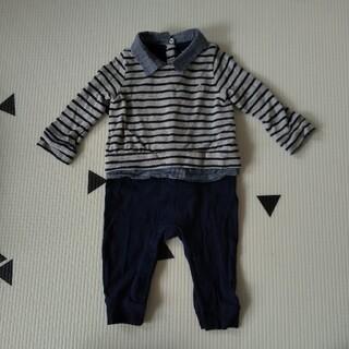 babyGAP - babyGAPロンパース 襟つき 男の子70